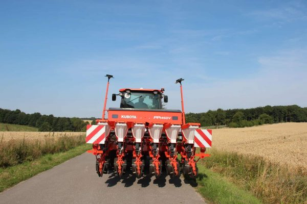 Пролетна сеялка PP1450V с навигационен пакет за прецизно земеделие