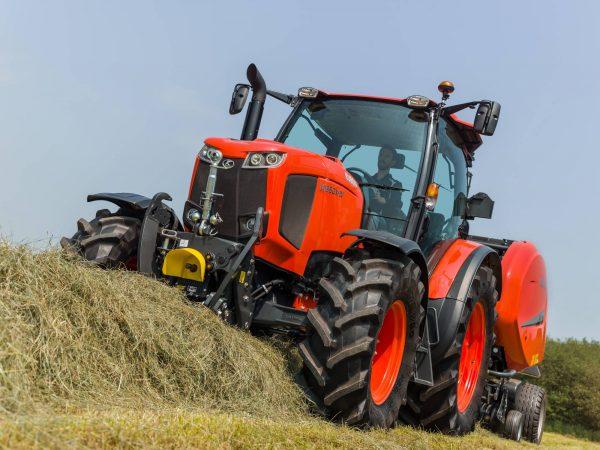 Трактори серия MGX IV (104-143к.с.) оборудвани за прецизно земеделие