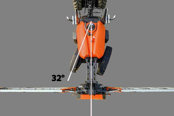 Навесна Пръскачка  оборудвана с навигационен пакет
